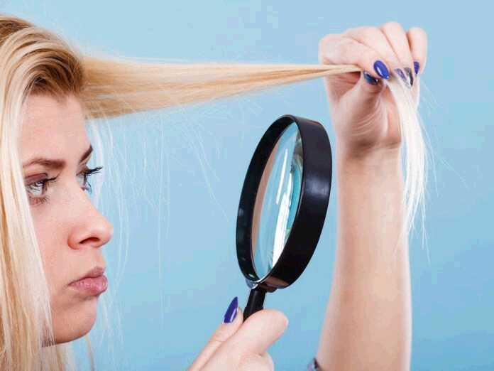 get rid of dry hair
