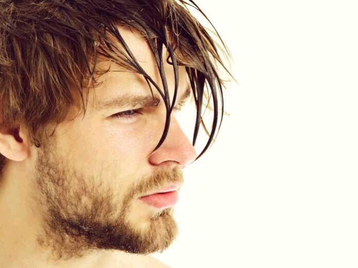 minoxidil on wet or dry hair
