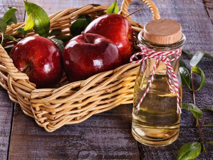 apple cider vinegar for hair care