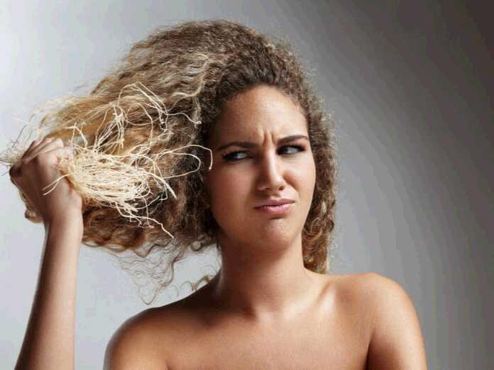 repair perm-damaged hair