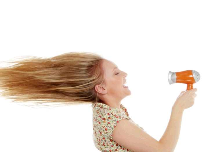how to blow-dry your hair